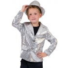 Disco Jacket Silver Child Med