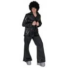 Disco Jacket Black Adult Std