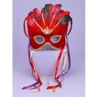 Venetian Couple Mask Rd/Bk