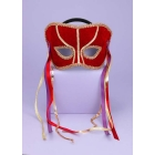 Venetian Couple Mask Gd Trim