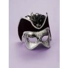 Silver Venetian Mask