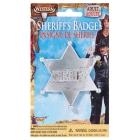 Sheriff Badge Silver