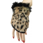 Leopard Glovelets