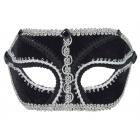 Venetian Glasses Black Silver