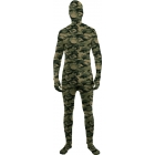 Skin Suit Camo Adult Std