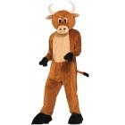 Bull Brutus The Mascot