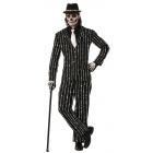 Bone Pin Stripe Suit Std
