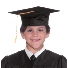Graduation Hat Black Child
