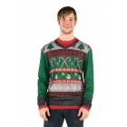 Ugly Christmas Candy Canes Xl