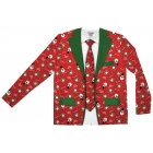 Ugly Christmas Suit Tie Lg