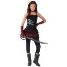 Pirate Skull Rocker Child 4-6