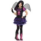 Pink Skull Fairy Child 12-14