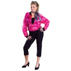 Rock Roll Costume Pink Sm Med