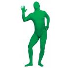Skin Suit Green Adult Plus