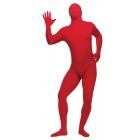 Skin Suit Red Adult Plus