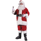 Santa Suit Prem Pl Red Lrg