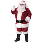 Santa Suit Prem Plsh Crimsn