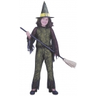 Funky Witch Green Child Lrg