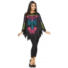 Poncho Skeleton Color Ad One S