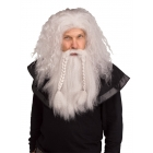 Grey/Viking Wig & Beard