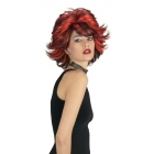 Choppy Wig Red And Black