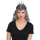 Black/Flexible Glitter Crown