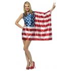 Flag Dress Usa Adult