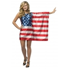Flag Dress Usa Teen
