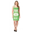 Taco Bell Packt Dress Verde Ml