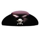 Pirate Hat Plastic 1 Sz