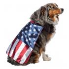 Usa Dog Flag Cape Medium