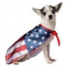Usa Dog Flag  Cape  Xs