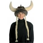 Space Viking Hat W Braids