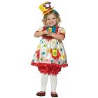 Clown Girl 3-4T