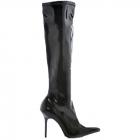Boots Emma Knee Length Bk Sz 6