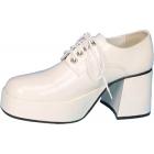 Shoe Platform Wht Pat Men Sm