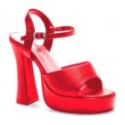 Platform Lea Red Size 14