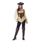 Rustic Pirate Lady Adult Md