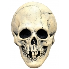 Nightowl Skull White Latx Mask