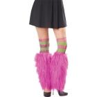 Kit Leg Furries Stripe Grn/Pur
