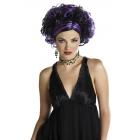 Wicked Widow Wig Bk/Purple