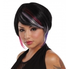 New Rave Wig Black Lavender Ho