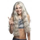Wig Hippie W/Headband Gray