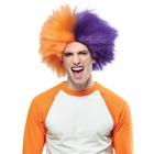 Sports Fun Wig Orange Purple