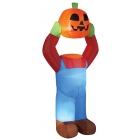 Inflate Headless Pumpkin 4Ft