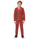 Christmas Red Suit Ch Md 8-10