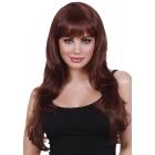 Wig Long Fringe Auburn
