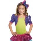 Dance Craze Bolero Purple Md L