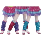 Dance Craze Leg Warmers Turq