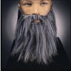 Full Beard And Mustache Grey